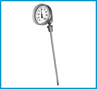SSEA Schmierer South East Asia Bimetallic Dial Thermometer